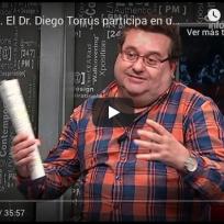 El Dr. Diego Torrús participa en una tertulia para analizar la situación del coronavirus